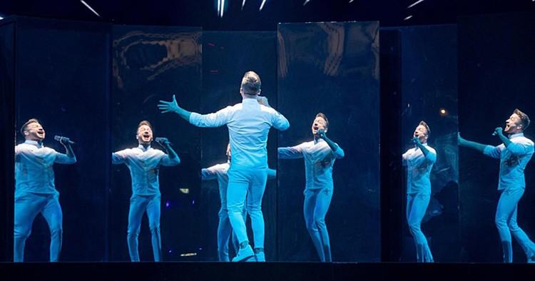 Лазарев не был доволен репетицией на сто процентов