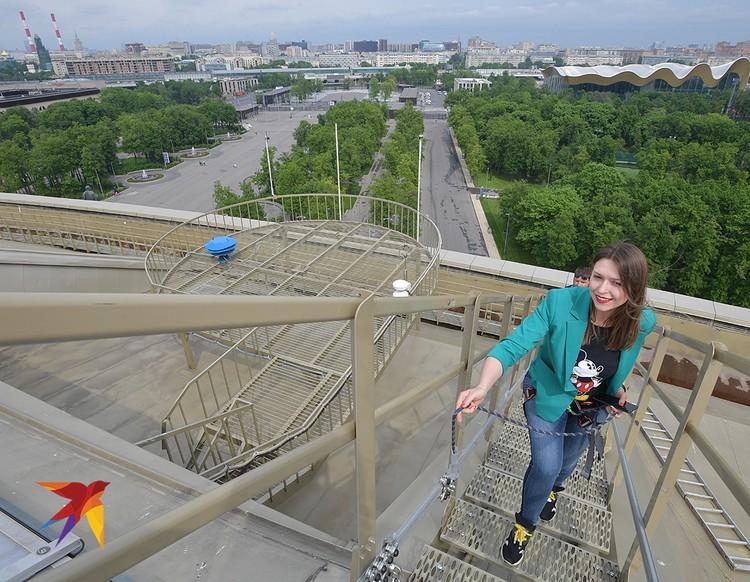 Полюбоваться на Москву с высоты крыши Лужников можно будет за 1000 рублей.