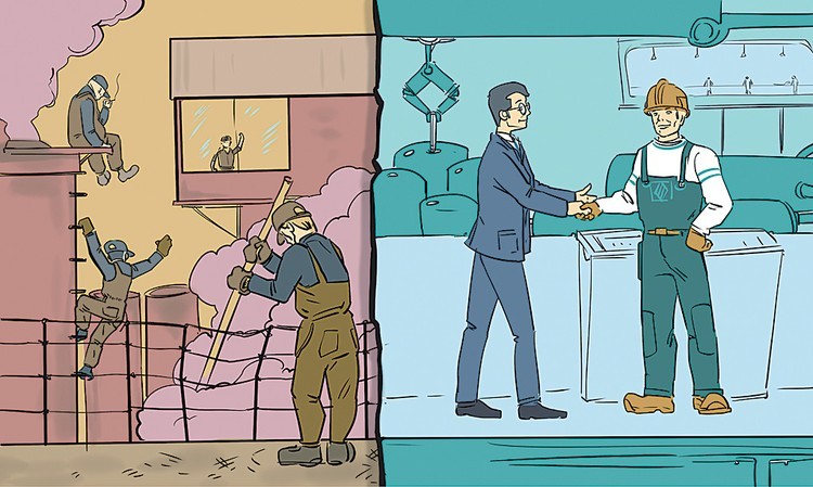 Не эксплуатация, а взаимовыгодное использование навыков и опыта сотрудников. Фото: Ольга КОРДЮКОВА