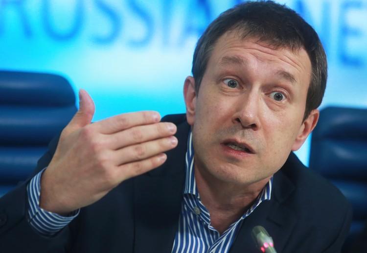 Директор Центра политической конъюнктуры Алексей Чеснаков. Фото: Сергей Фадеичев/ТАСС