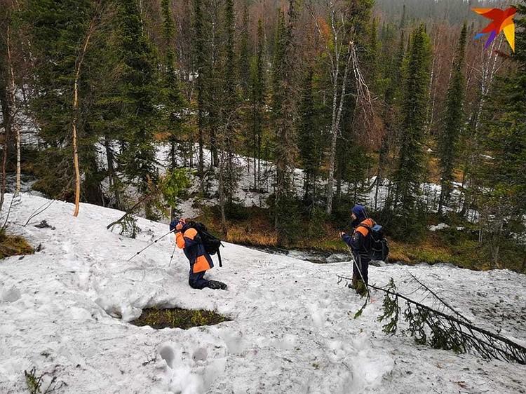 Снег на горе настолько глубокий, что будешь ходить там, где внизу труп, и не узнаешь. Один из волонтеров так и сказал: я дважды проходил по месту, где нашли одно из тел.