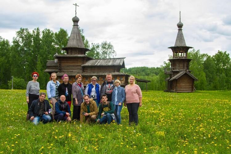 Экспедиция блогеров в музей под открытым небом. Фото: Михаил ДОКУКИН.