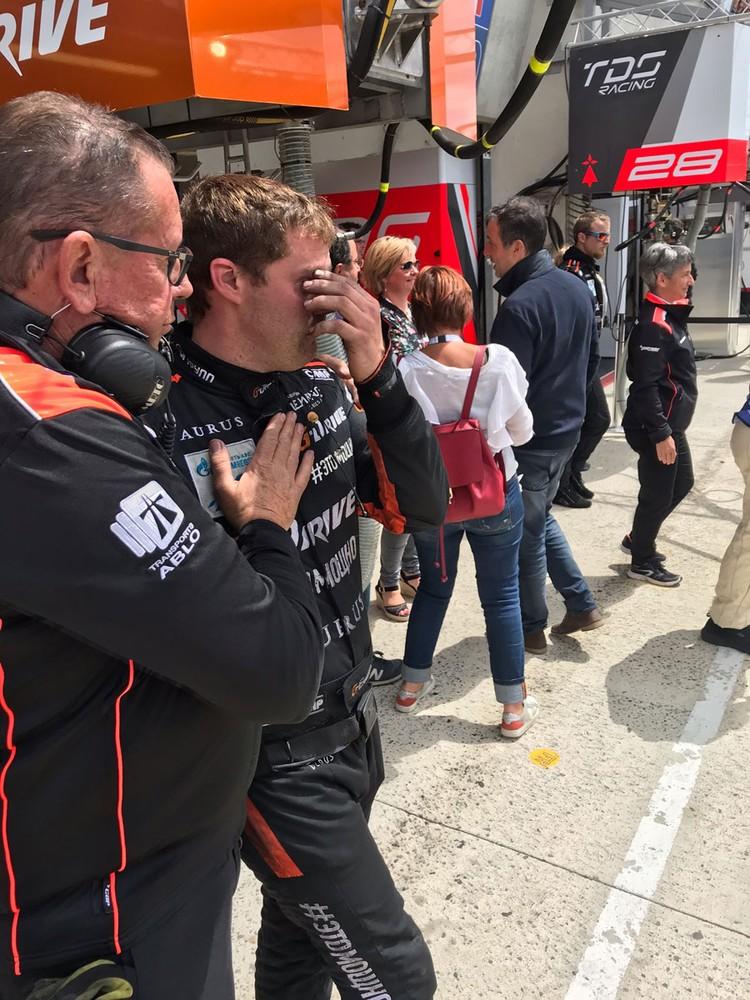 """«G-Drive Racing"""" потеряла на ремонте 4 круга и откатилась на 7-ю позицию."""
