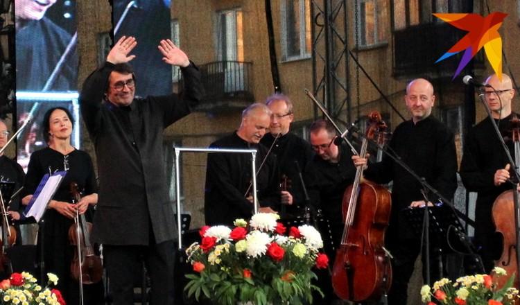 Юрий Башмет второй раз выступил в Твери на Театральной площади