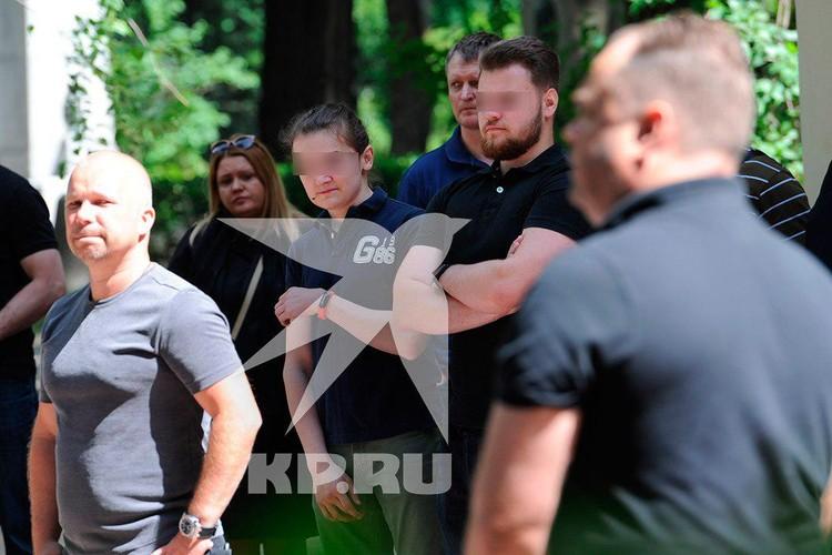 Младший сын Соколовых на похоронах не проронил ни слезинки