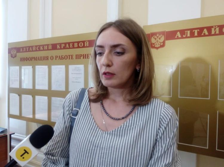 Вдова Михаила Седова Виктория Переясловская