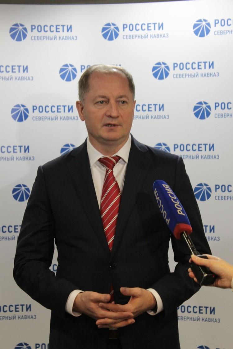 Заместитель гендиректора ПАО «Россети», руководитель «Россети Северный Кавказ» Виталий Иванов