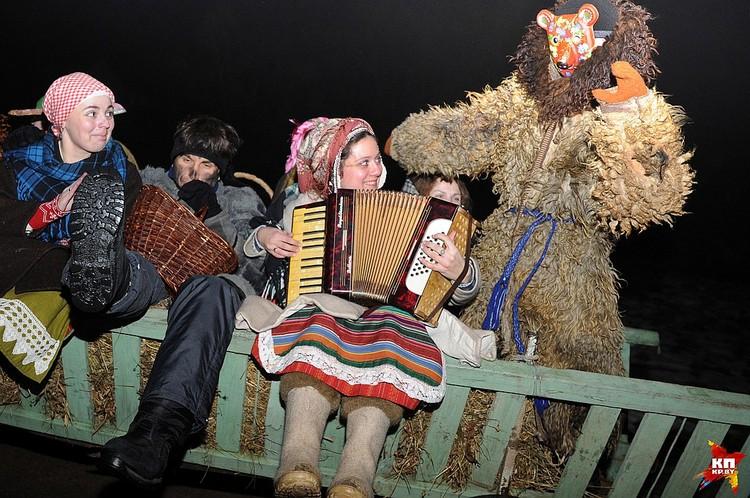 Коляды были одним из поводов для белорусов повеселиться, и это - закон!