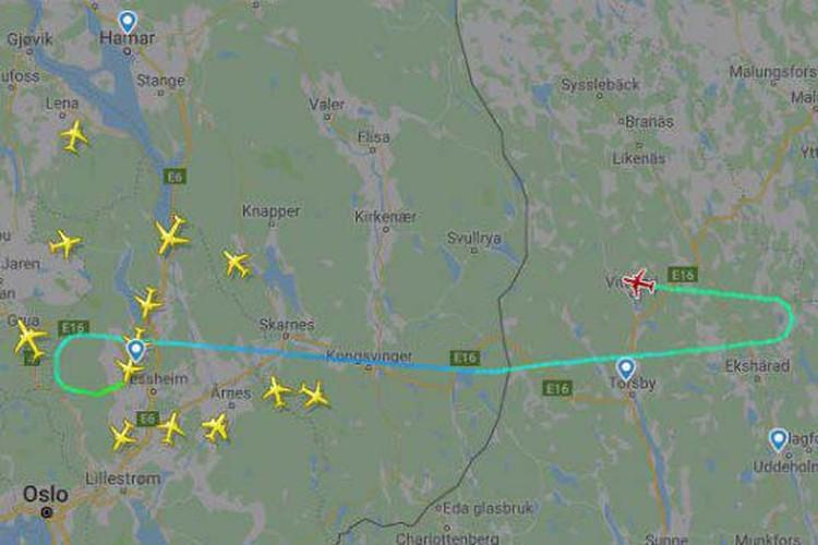 Сигнал бедствия был подан в небе над Швецией