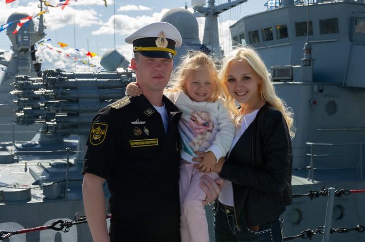 Крепкий тыл любого военного - это семья.