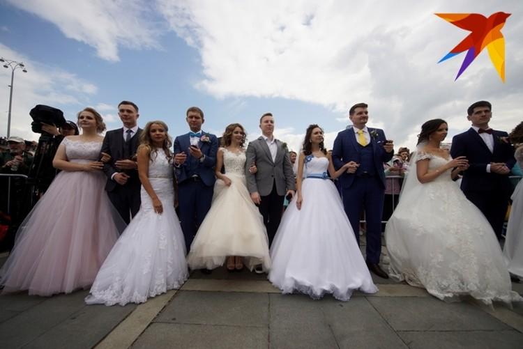 Хотели погулять на свадьбе? Тогда приходите на Плотинку.