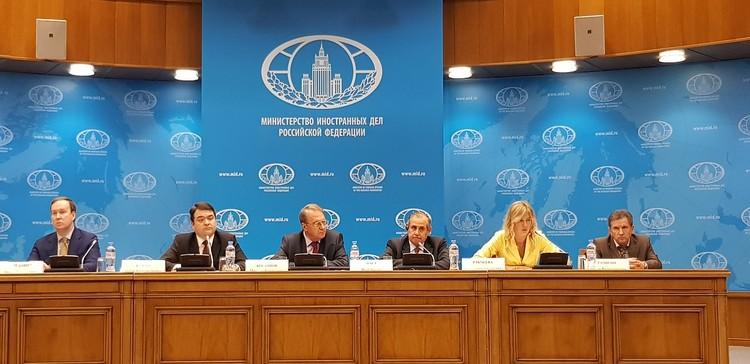 На встрече представили программу предстоящих мероприятий в Сочи,а также состоялось обсуждение ряда организационных вопросов. Фото: фонда Росконгресс