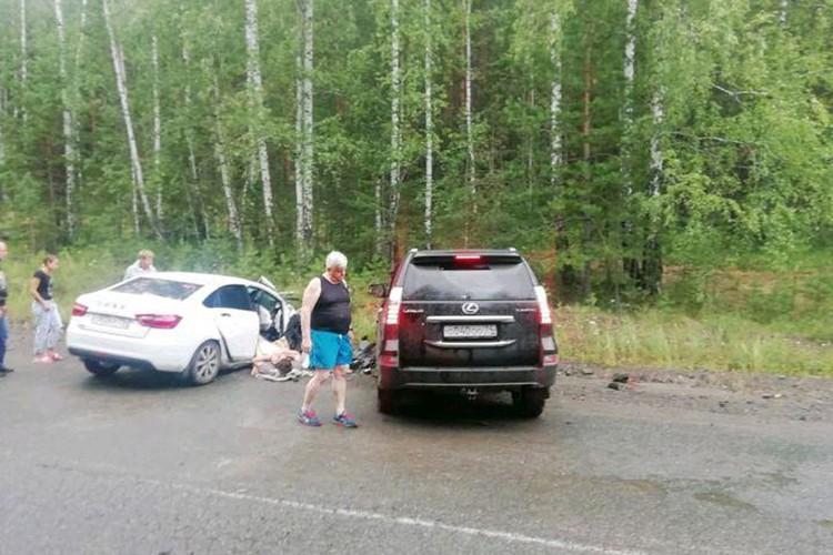 В полиции официально заявили, что водитель «Лексуса» был трезвый.
