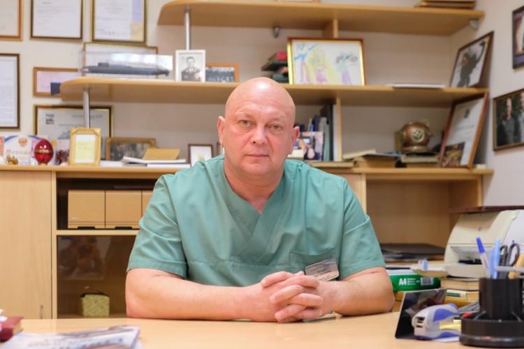 Олег Резник говорит, что пересадка печени - одна из самых сложных операций в трансплантологии