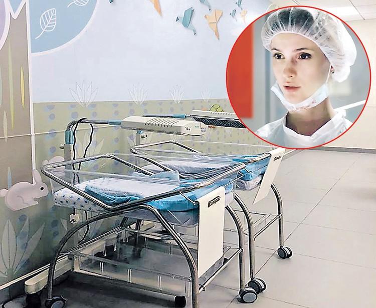 Светлана Иванова еще до родов побывала на экскурсии в детском отделении. Фото: facebook.com/lis.ichilov, Кадр из фильма