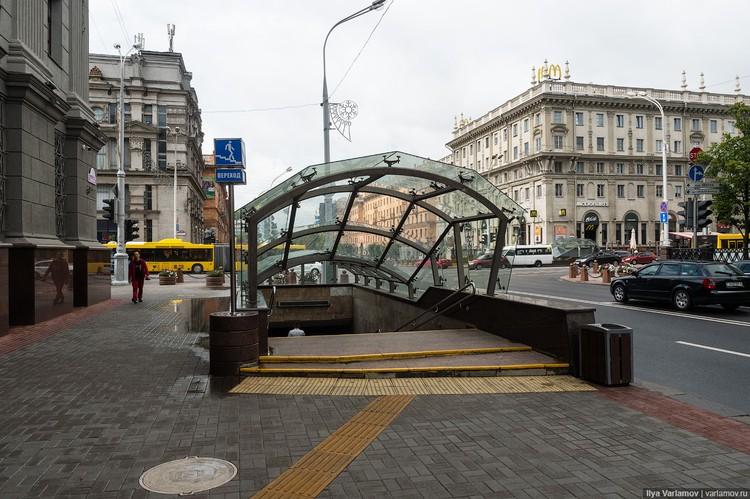 Много нареканий у Варламова вызвало обилие подземных переходов в Минске Фото: varlamov.ru