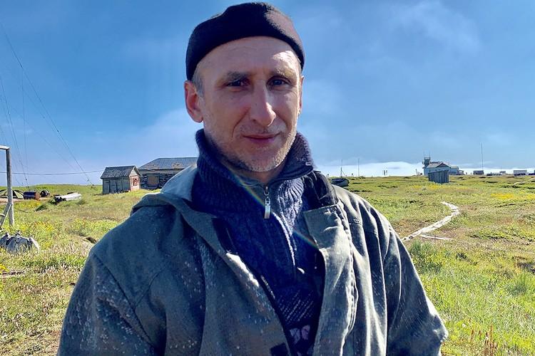 Начальник маяка Роман Гейкин