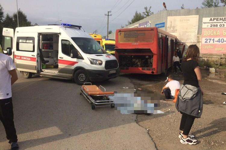 Пострадали 32 человека. Фото: ГИБДД Перми.