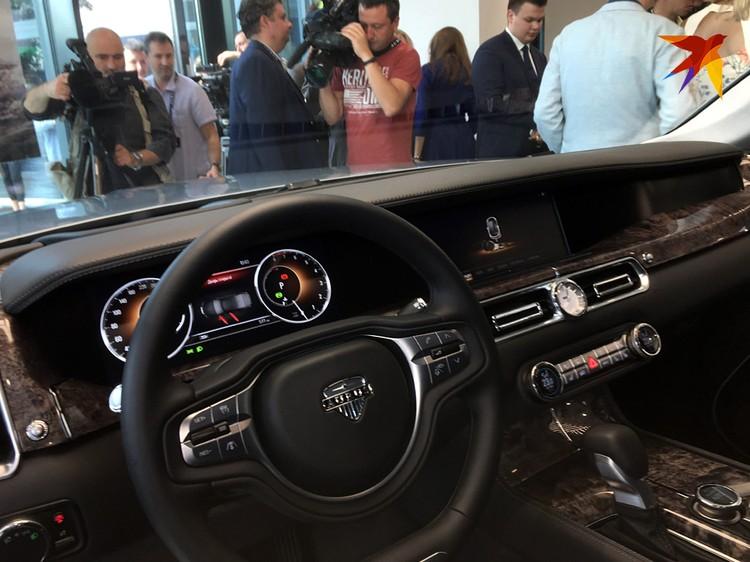Авто в базовой комплектации обойдется в 18 миллионов рублей