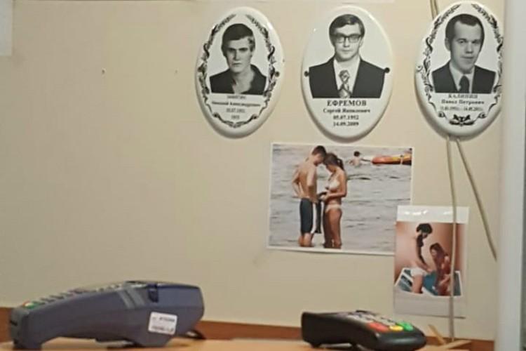 В салоне висели и другие примеры Фото: предоставлено героем публикации