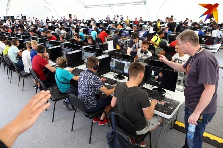 На фестивале будет работать огромная площадка для видеоигр с 200 компьютерами!