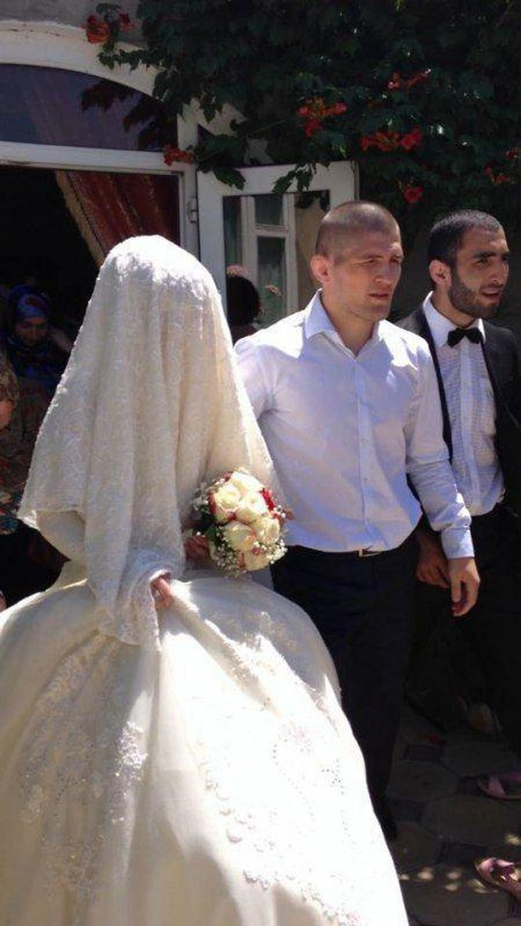 Свадьба Хабиба и Патимат