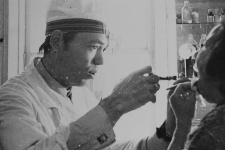 1970-е. Первые годы работы в дорожной больнице Фото: krasgkb20.ru