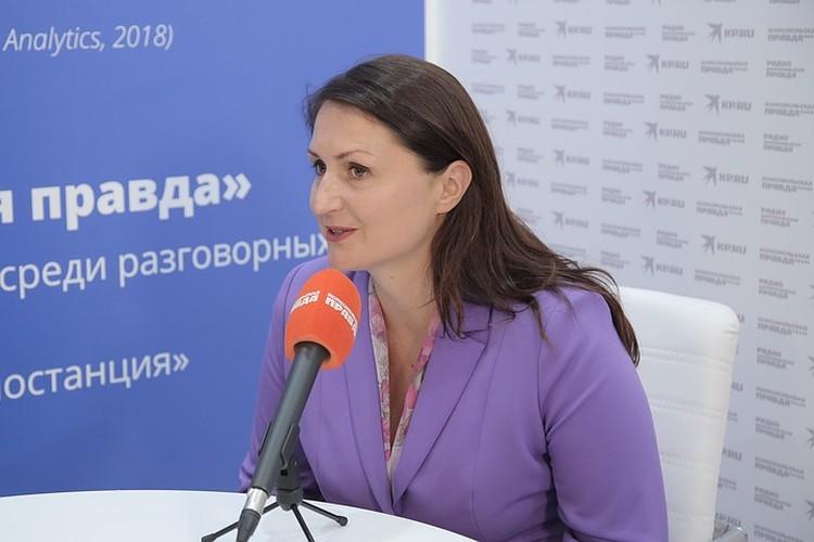 Анна Шабарова считает, что основой трудового коллектива на новом комбинате станут местные жители.