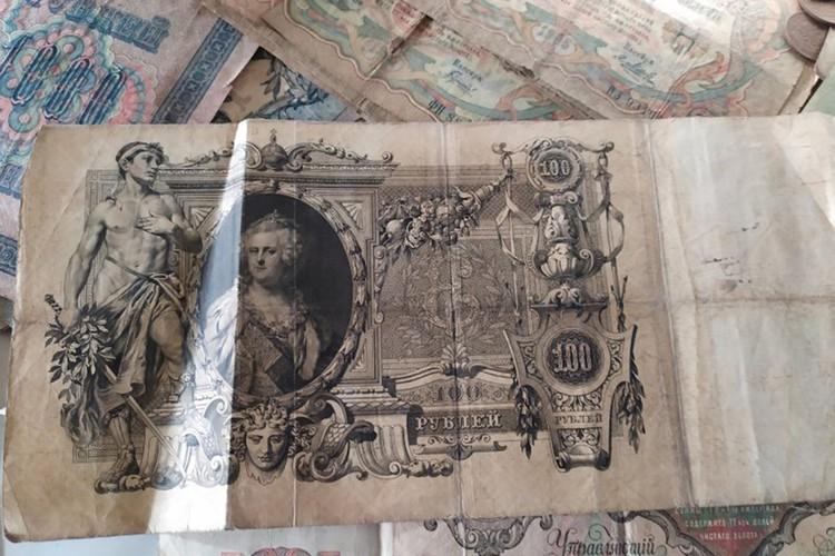 Исторические банкноты напоминают гравюры в музее. Фото: Марина Клайн/газета «Регион»