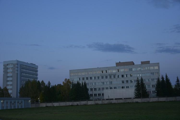 Горел один из корпусов центра вирусологии «Вектор».