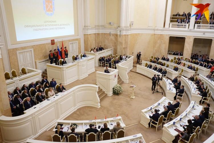 Инаугурации главы города прошла 18 сентября.