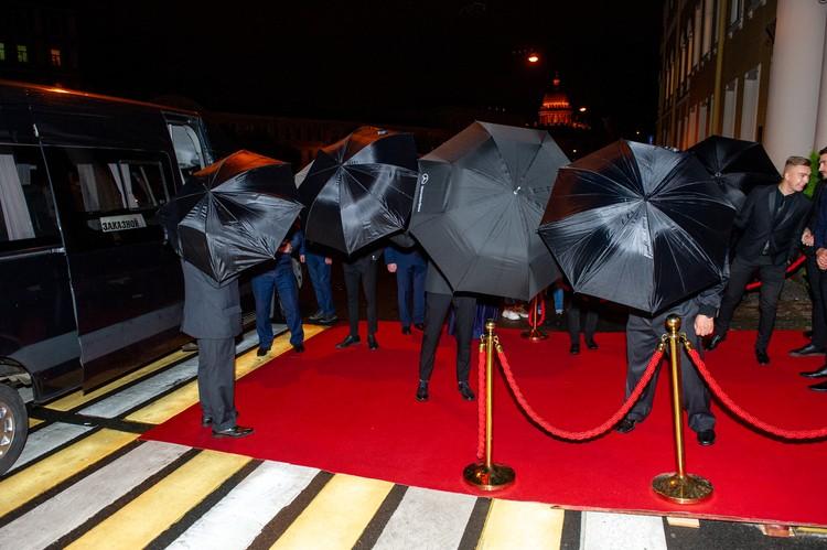Армия зонтиков сработала на ура