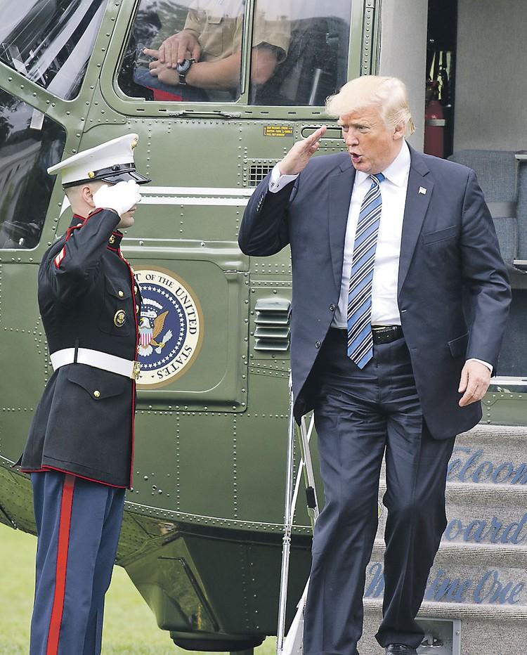 В этом году на Британские острова приезжал с госвизитом сам президент США Дональд Трамп.