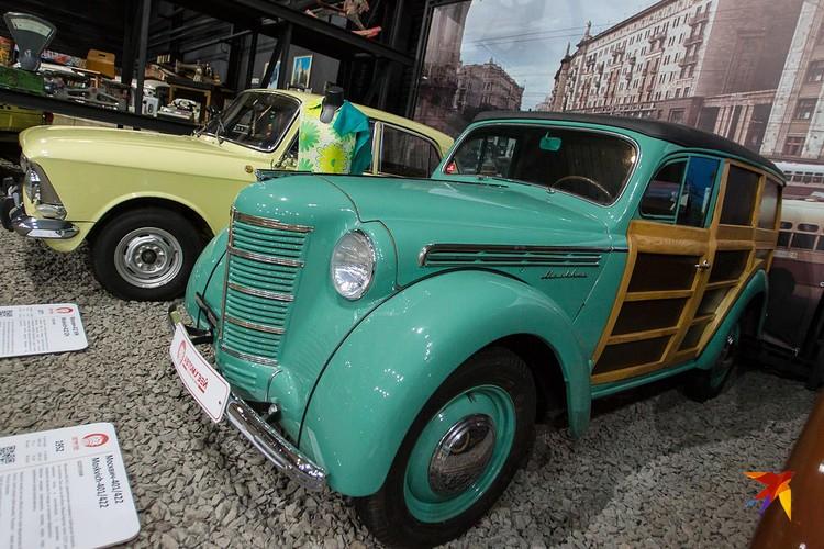 В Москве открыли самый большой автомузей в России