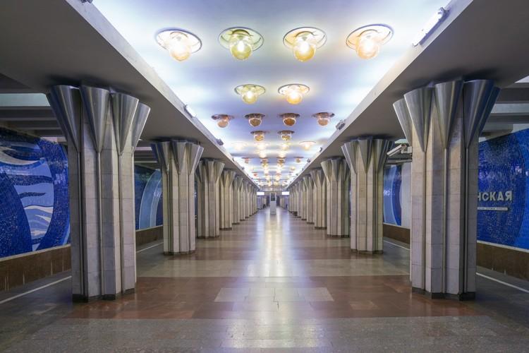 Станция «Гагаринская» в Самаре. Открыта в 1993 году. Фото: Christopher Herwig/FUEL