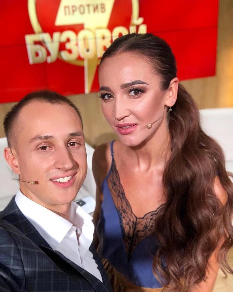 Эксперт телепроекта «Бородина против Бузовой» Илья Саглиани с Ольгой. Фото: Instagram