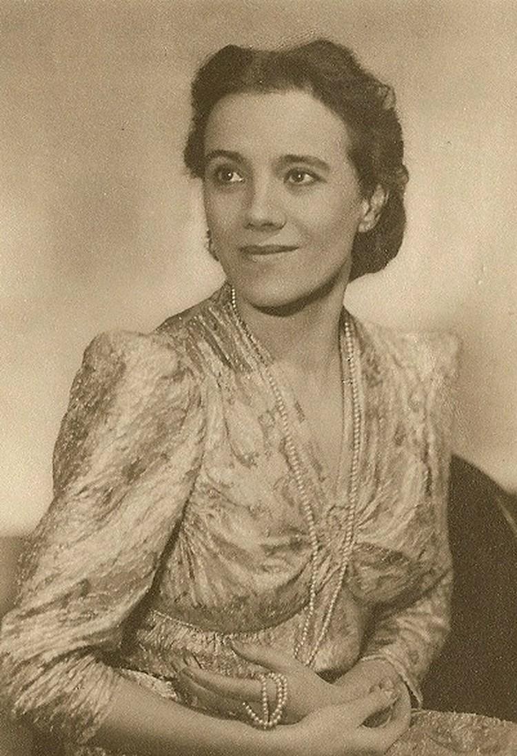 Ольга Иордан. Фото: Пересъемка архива Татьяны Ерофеевой