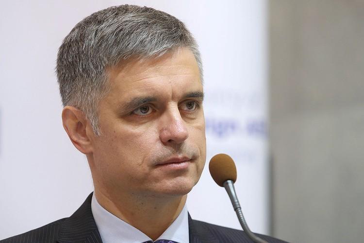Глава МИД Украины Вадим Пристайко.