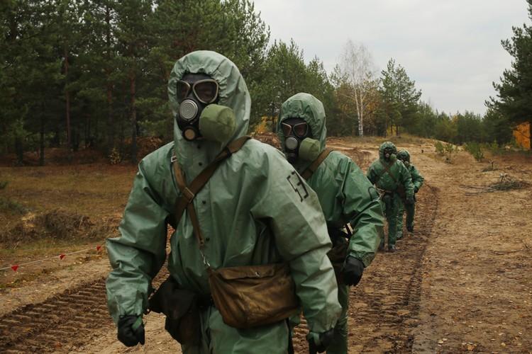В рамках учений военнослужащие выполняли задания разной сложности