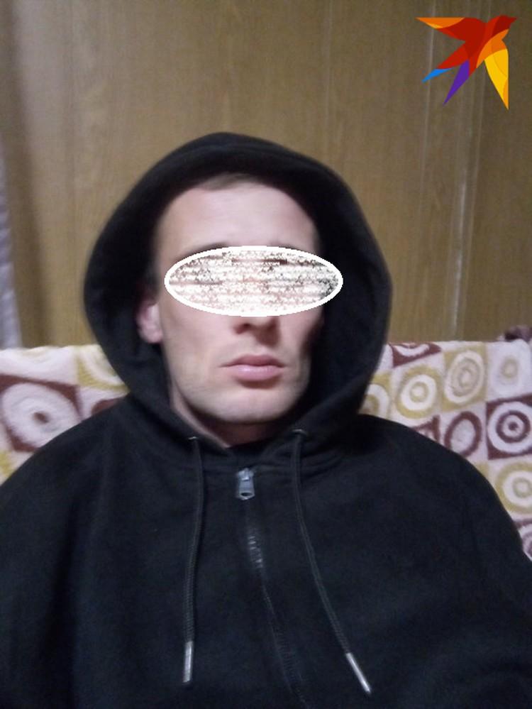 Подозреваемый Михаил Туватин