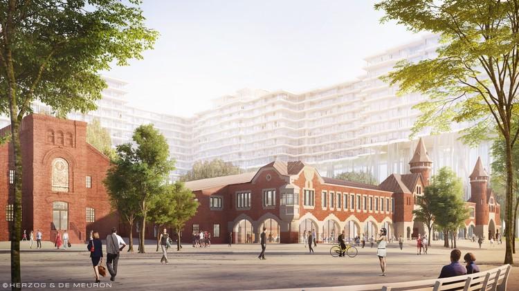 Проект развития территории Бадаевского завода включает реконструкцию памятника и воссоздание единого архитектурного ансамбля XIX века.