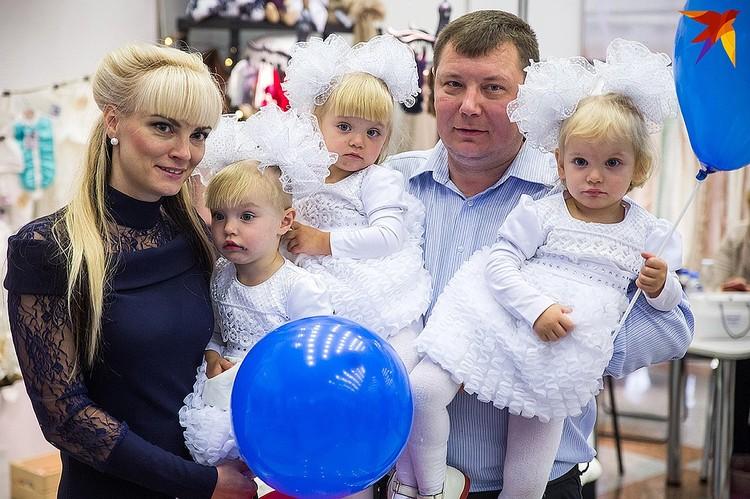 Семья Хадоркиных в прошлом году.