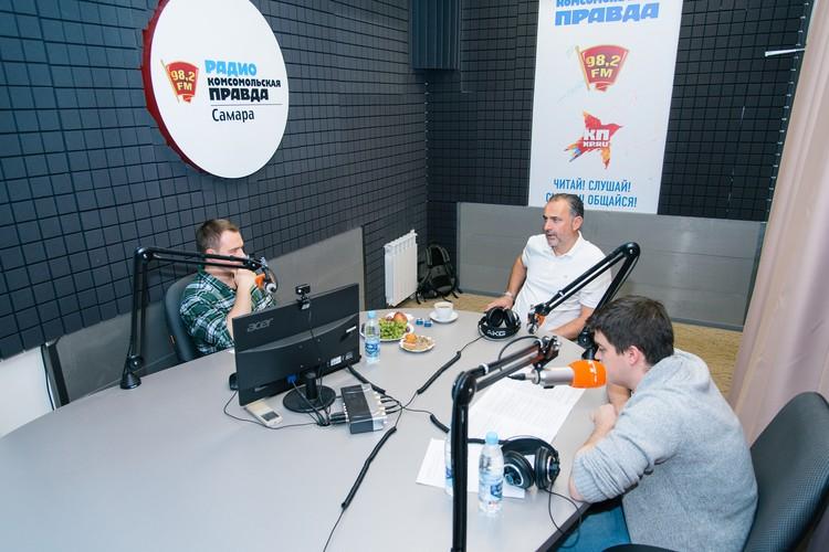 Миодраг Божович работает в «КС» с октября прошлого года.