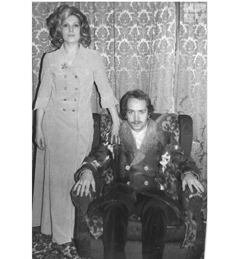 С первой женой Ольгой Шумаковой. Фото: личный архив