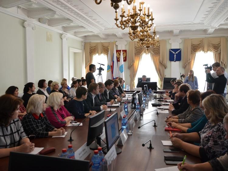 В мэрии Саратова прошло совещание по безопасности детей