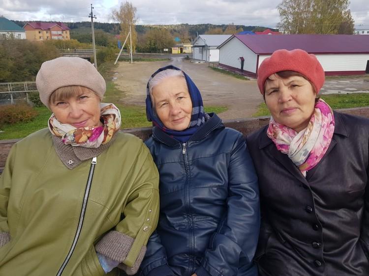 Сестры Елена, Людмила и Юлианна. Фото из семейного архива