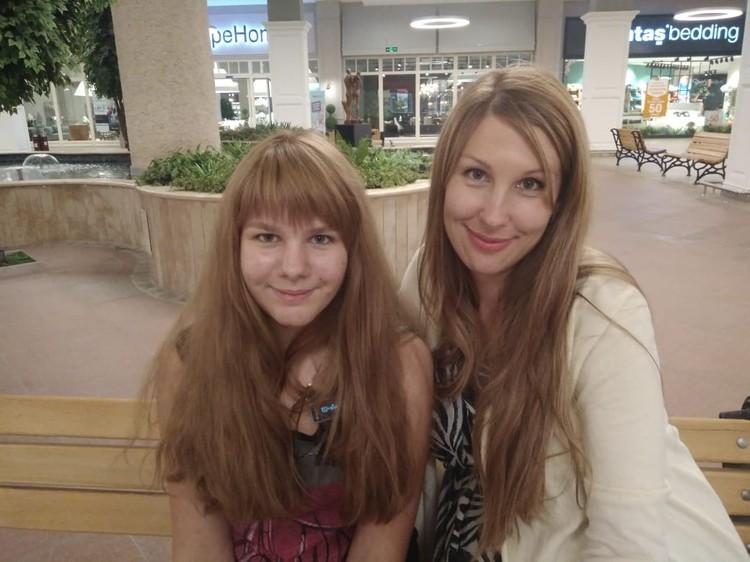 Ксения дождалась встречи с дочерью