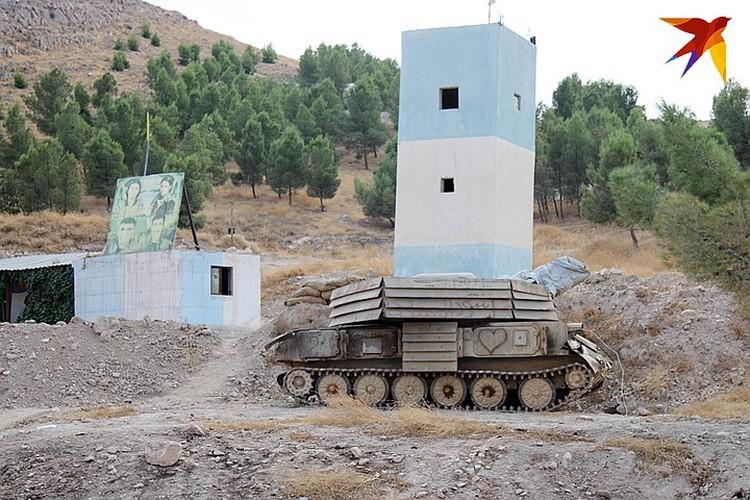 Наблюдательный пункт курдов.