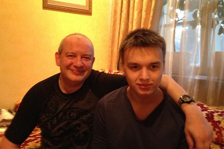 Дмитрий с сыном Даниилом.