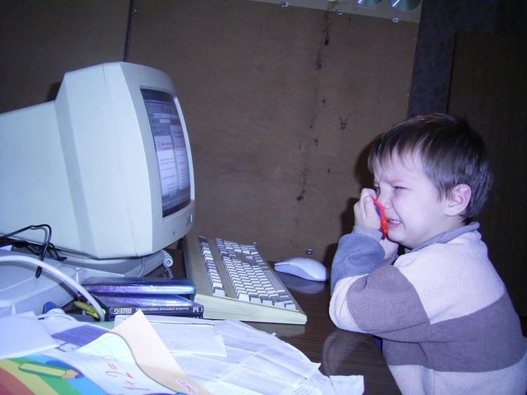 С компьютерами Михаил познакомился рано